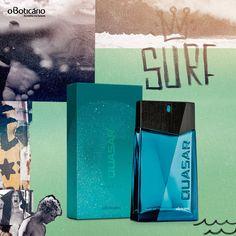 Quasar Surf  Eau de Cologne  By O Boticario 125 ML 4.22 oz #OBoticrio