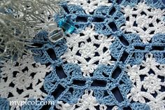 """CHRISTMAS CROCHET MOTIF 
