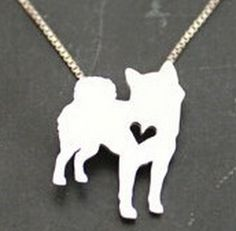 A Shiba Inu Has My Heart Necklace