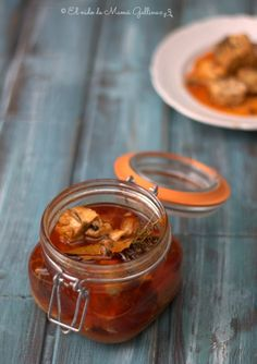 caballa en escabeche Fish Recipes, Healthy Recipes, Mackerel Fish, Sweet And Salty, Canning, Food, Kitchen, Ideas, Homemade Pickles