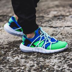 Nike Huarache NM (grün / blau) - 43einhalb Sneaker Store Fulda