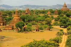 Explore the ancient temples of Bagan with Belmond Road to Mandalay.