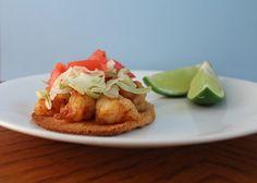 Chili Lime Shrimp Tostadas
