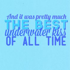 The best under water kiss