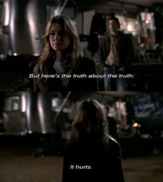 Grey's Anatomy- Truth hurts