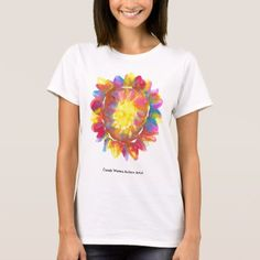 Candy Waters Autism Artist T-Shirt - click/tap to personalize and buy Sun Painting, Candy Art, T Shirts For Women, Clothes For Women, Christmas Shirts, Wardrobe Staples, Colorful Shirts, Fitness Models, Female