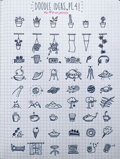 doodle, school, and ideas Bild