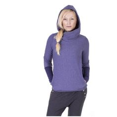 Viva la Mama   Super comfortable maternity hoodie ASTOR ( jeans blue). Hoodie for pregnancy, maternity, breastfeeding & everyday use. Your cozy piece for fall and winter in your maternity wardrobe :)