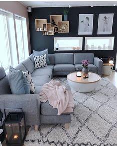 Future Home Interior .Future Home Interior Living Room Decor Colors, Living Room Grey, Home Living Room, Living Room Designs, Decor Room, Home Decor, Home Design, Interior Design, Interior Plants