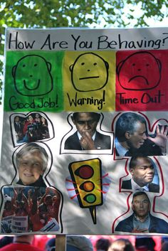 Class Expectations Poster:  How Are You Behaving, Diane Ravitch, Barack Obama, Rahm Emanuel?