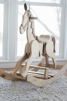 DIY Rocking Horse |do it yourself divas