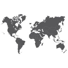 Black and white print with a world map interior pinterest cheap map wall sticker buy quality world map wall sticker directly from china designer wall stickers suppliers large new design art pattern creative world publicscrutiny Choice Image
