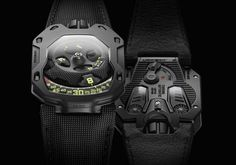 Urwerk UR-105 TA All Black with satellite hours | Time and Watches