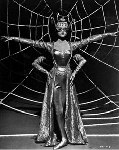 """Via bizarrelosangeles : ANNE FRANCIS Quote _ """" Of course, I don't like being the vamp, but sexy roles are the plums these days."""" _ Anne Francis in Susan Slept Here Louise Brooks, Costume Halloween, Spider Costume, Circus Costume, Old Photos, Vintage Photos, Anne Francis, Ziegfeld Follies, Drag"""