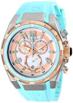 MULCO Unisex MW1-81197-413 Analog Display Swiss Quartz Blue Watch