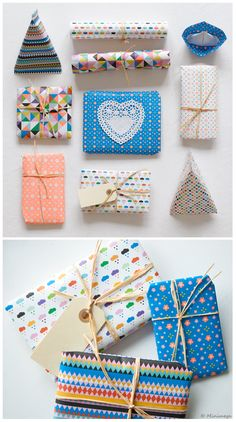colourful wrapping