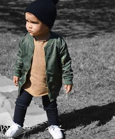 30 Incredibly Chic Street-Style Photos From India Toddler boy fashion - faded green leather jacket, distressed tan shirt, black distressed jeans, white sneakers Baby Boy Swag, Cute Baby Boy Outfits, Little Boy Outfits, Toddler Boy Outfits, Toddler Boys, Toddler Boy Style, Toddler Chores, Kids Style Boys, Little Boy Style