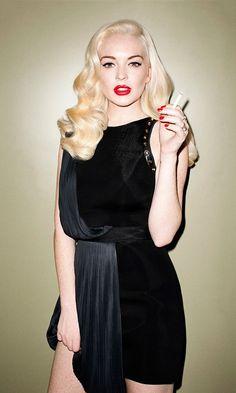 Lindsay Lohan and all her mess.