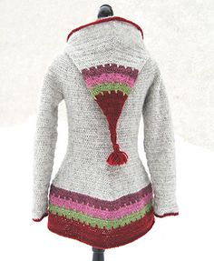 "** This design is nominated in the ""Best jacket/coat"" category of the Crochet Awards !! Please vote if you like it :-D **"