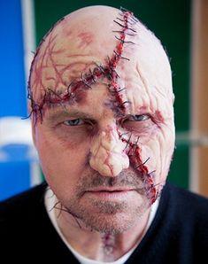 Stitch Face Halloween Makeup