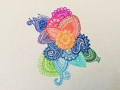 Colourful drawing, beautiful.