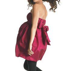 maternity clothes | iMaternity Maternity Clothes - Fuschia Bubble Dress | ThisNext