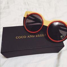 Thelma in yellow Coco and breezy sunglasses Fun and unique colorful designer sunglasses by coco and breezy. Coco and breezy Accessories Sunglasses