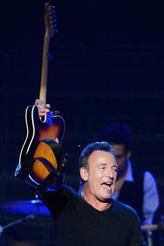 Bruce Springsteen Photos Photos: The 2013 MusiCares Person Of The Year Gala Honoring Bruce Springsteen - Show Elvis Presley, E Street Band, Tom Hanks, Bruce Springsteen, My Boyfriend, Boyfriends, Rock N Roll, Boss, Portraits