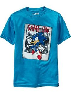 "Boys Sonic the Hedgehog™ ""Game On!"" Tees"
