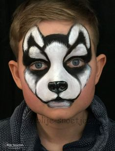 Well done Husky face paint