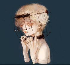 Image in anime-manga boy♣︎ collection by zillion Arte Horror, Horror Art, Boy Art, Art Girl, Pretty Art, Cute Art, Aesthetic Art, Aesthetic Anime, Desenhos Halloween