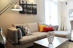 RoomReveal - Modern Living Room by Busybee Homestore & Design Center