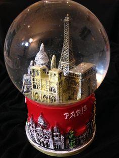 Snow Globe of Paris