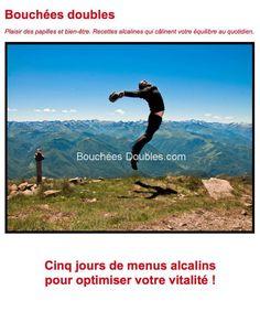 Guide Bouchées Doubles - Cinq jours de menus alcalins