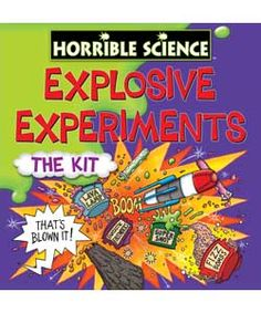 Buy Horrible Sciences Explosive Experiments at Argos.co.uk, visit Argos.co.uk to shop online for Discovery and science