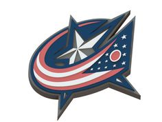 Columbus Blue Jackets ice hockey team logo #ColumbusBlueJackets #3Dmodels #icehockey #logo #NHL
