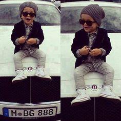 little girl / boys fashion #kids fashion Kids fashion / swag / swagger / little fashionista / cute / love it!! Baby u got swag!