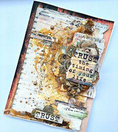 Art Journal Inspiration. Art journal