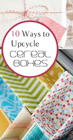 10 Ways to Upcycle Cereal Boxes DIY, DIY home projects, home diy crafts makeup box - Makeup Diy Crafts Creative Crafts, Fun Crafts, Diy And Crafts, Arts And Crafts, Paper Crafts, Cardboard Crafts, Diy Crafts Makeup, Diy Makeup, Makeup Box