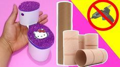 How to make Miniature Toilet for Barbie dolls Barbie Dolls, Toilet, How To Make, Diy, Barbie Bathroom, Barbie Stuff, Fun Crafts, 3d Pencil Drawings, Barbie Furniture