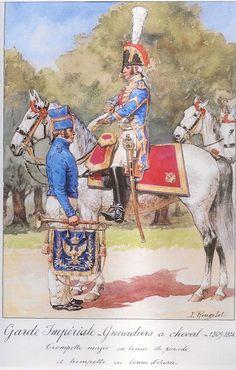 Trombettiere maggiore uniforme da parata 1809-1814
