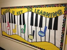 Music in Our Schools Month - bulletin board ideas