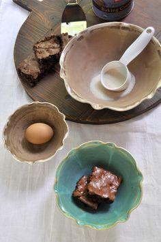 Lee Wolfe Pottery — handmade Ceramic Nesting Bowls. $58