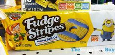 """Join 8 people right now at """"SPOTTED ON SHELVES: Keebler Yellow Bell-Os and Lemmy Num-Num Fudge Stripes - The Impulsive Buy"""""""