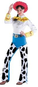 Dress Up as a Your favorite COWBOY Disney Toy Story 2 Jessie Adult Costume