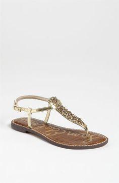 Sam Edelman 'Gwyneth' Sandal gold | Nordstrom