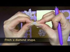 Learn to Make a Quilled Snowflake Ornament - Quilled Creations - YouTube