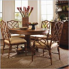 tommy bahama home island estate cayman pedestal dining table agreeable colonial style dining room furniture