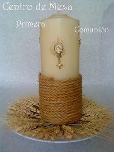 Centro de Mesa para Primera Comunión: | confirmacion | Pinterest ...
