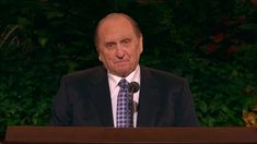 "Stand in Holy Places - general-conference ""We have in our lives the gospel of Jesus Christ, and we know that morality is not passé, that our conscience is there to guide us, and that we are responsible for our actions."" I love and follow President Thomas S Monson, as the Prophet of God on Earth today."
